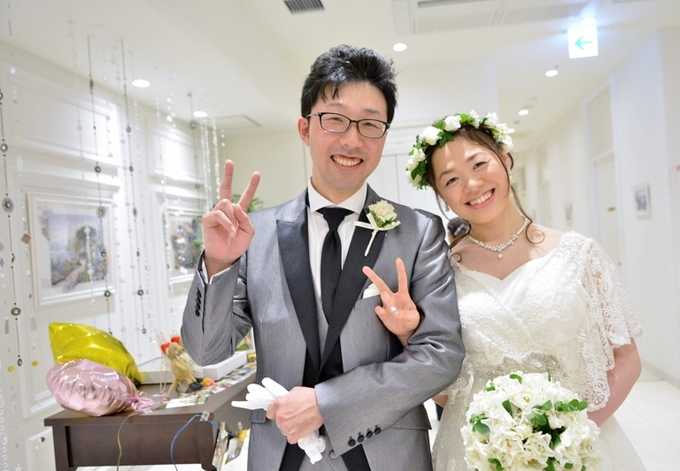 ソラノワスタッフブログをご覧の皆様こんにちは!コンシェルジュの福西です。本日は、昨日ご結婚式 を挙げられたお客様の「先輩カップルリポート」をお届けいたします。