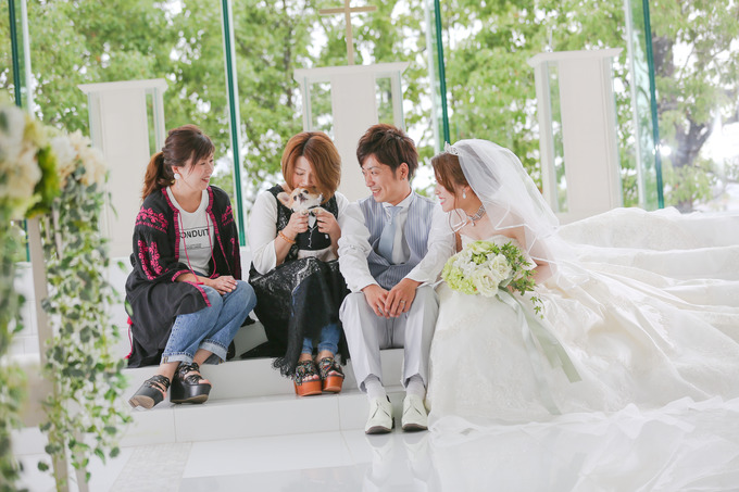大切な家族と前撮り