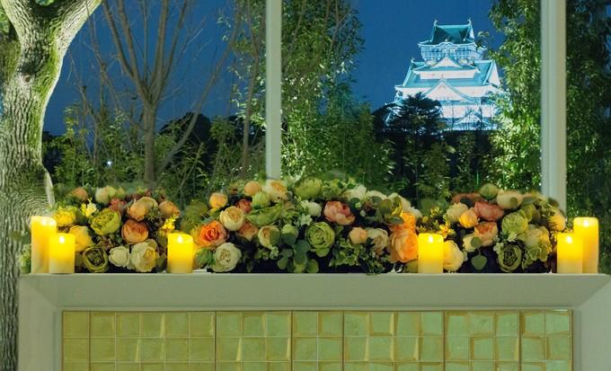 ~大阪城が見える式場~
