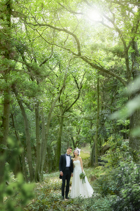 ~緑溢れた結婚式場~