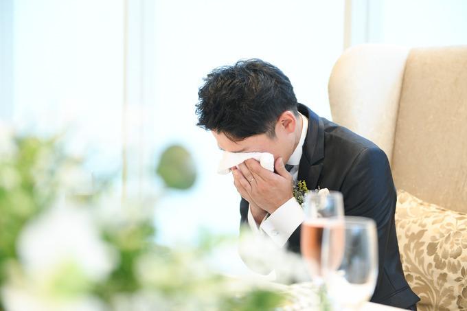 結婚式当日 新郎様の想い...