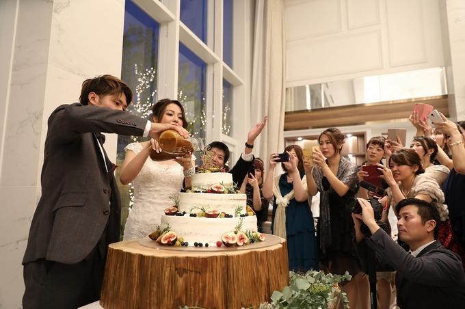 【神戸最新結婚式場 仕上げは新郎新婦様?】